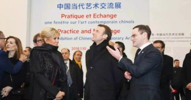 """蓬皮杜上海分馆2019年开放,法国总统马克龙推进博物馆""""品牌""""海外输出"""